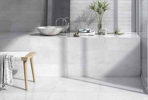 Tegels kleine badkamer - 2. Lijnenspel van je tegels