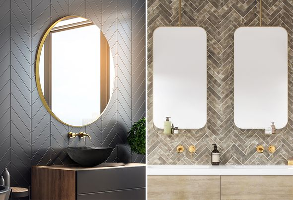 De badkamertrends van 2020 - 3. Spiegels als blikvanger 4. Digitalisering