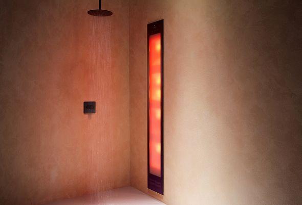 Wellness-badkamer: opties voor je douche - 2. Sunshower: de zon in je douche