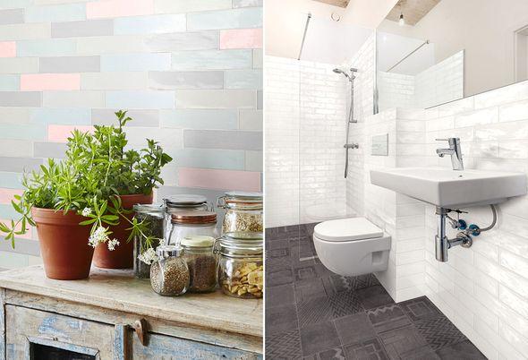 Pasteltint Baden+ huismerk tegels en Terratinta tegels