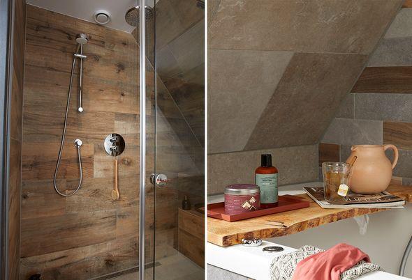 Binnenkijken bij een landelijke badkamer - Alinea 4
