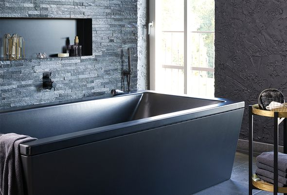 Binnenkijken bij een zwarte badkamer - Alinea 2