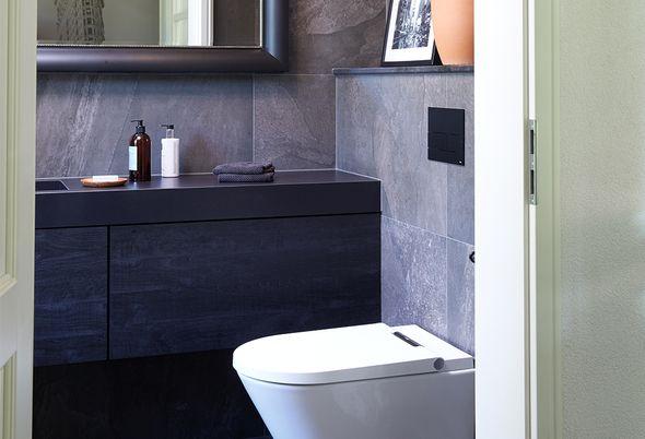 Binnenkijken bij een zwarte badkamer - Alinea 4