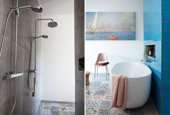 Binnenkijken bij twee badkamers, twee stijlen - Alinea 5