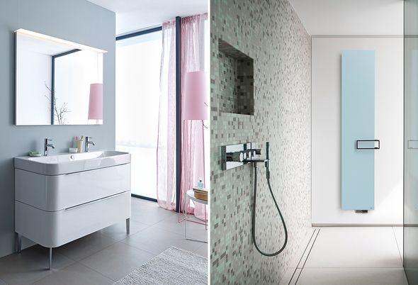 Trend: blauw in de badkamer - 3. Pastel en wellness