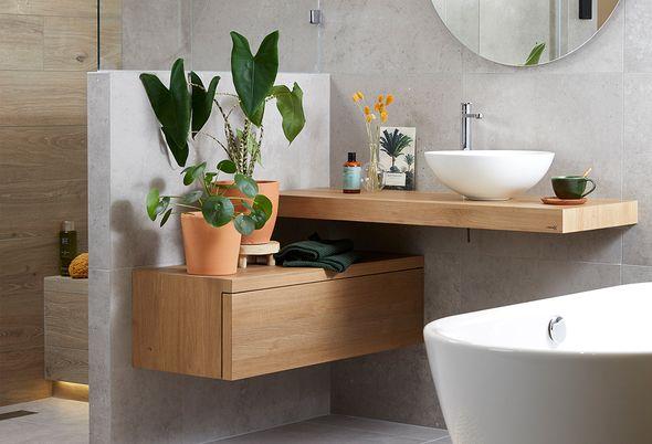 Trend: Betonlook in de badkamer - 3 betonlook