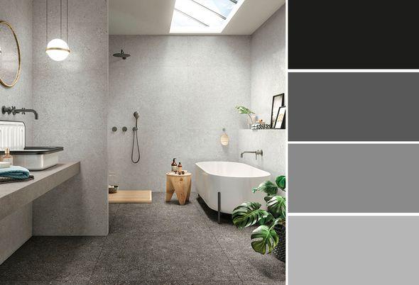Trend: Betonlook in de badkamer - 1 betonlook