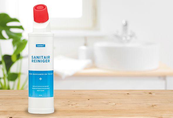 Baden+ schoonmaakmiddelen - 01. sanitairreiniger en microreiniger
