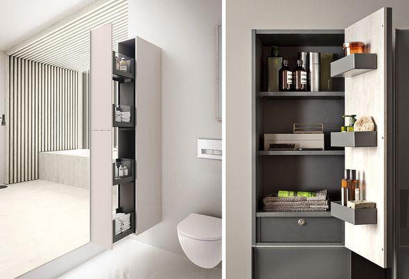 Geberit Acanto - 2: Al je badkamerspulletjes slim opgeborgen