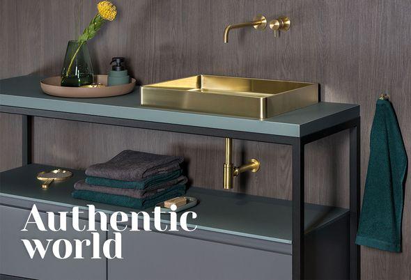 Dit zijn dé badkamertrends van dit moment - Industrial Chic - Authentic World
