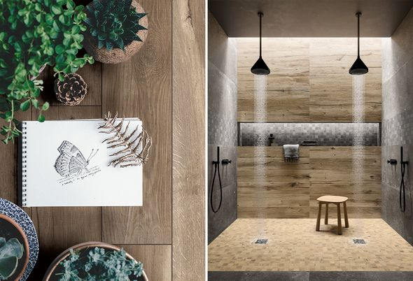 Trend: Urban nature - 1. Groen in de badkamer
