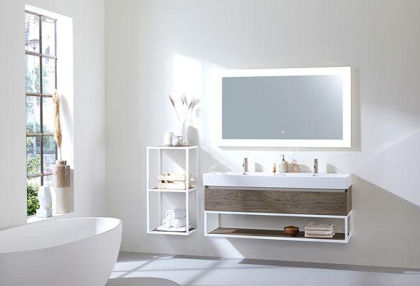 Compleet toilet met Portugese tegels - Compleet toilet - Baden+ Collectie
