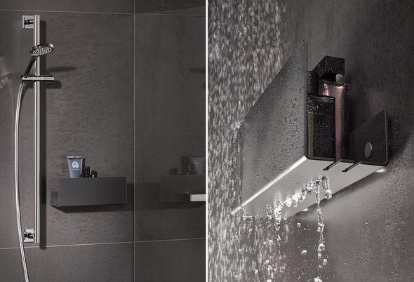 Zwarte doucheset aanbieding - Hotbath Cobber