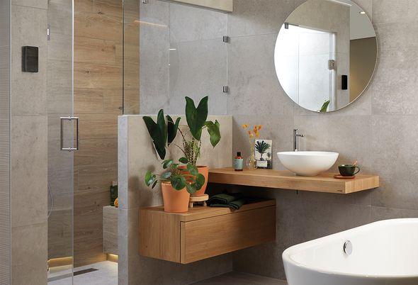 5 badkamer voorbeelden: moderne badkamer - Wellness badkamer in Scandinavische stijl
