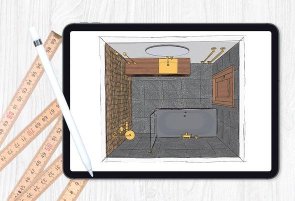Badkamer indelen - 3 Badkamer indeling maken