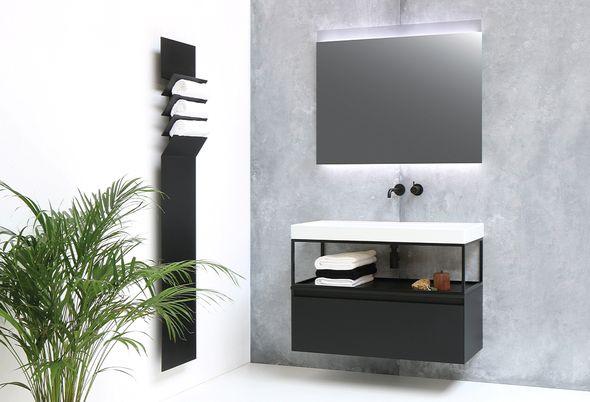 Inspiratie: 4x zwart in de badkamer - 1. Inspiratie: zwart in de badkamer