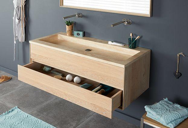 Badkamermeubels geven je badkamer sfeer