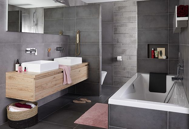 Tegels Badkamer Zeewolde : Betonlooktegels volop mogelijkheden voor de badkamer ago