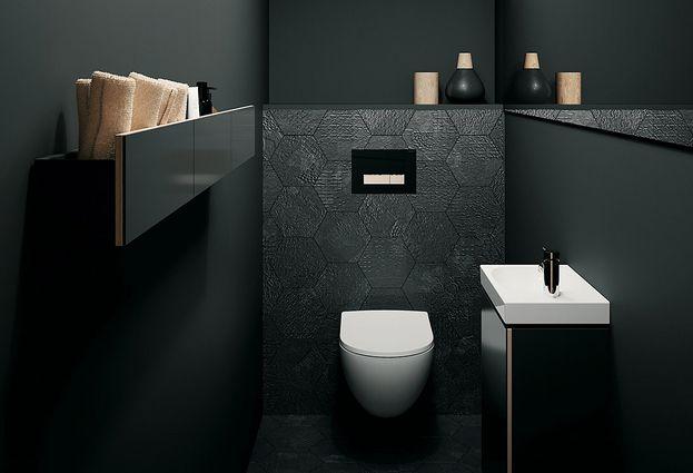 Inloopdouche Met Opzetwastafel : Wastafel voor de wc ook met toiletkastje astra badkamers tegels