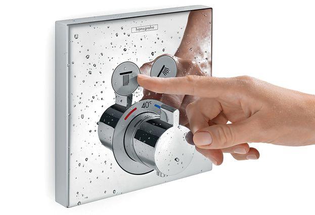 Hansgrohe showerselect - 1. Hansgrohe wissel van straalsoort