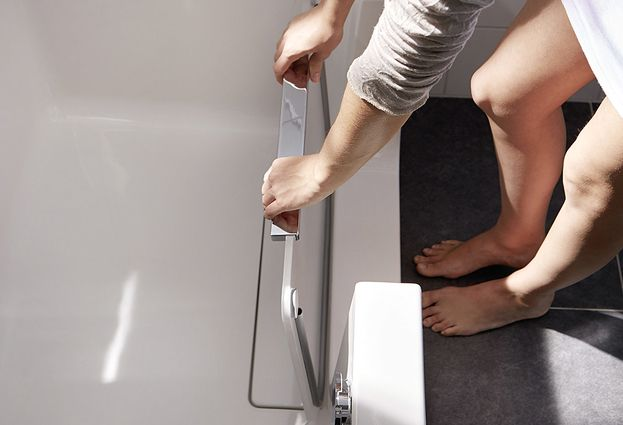 HSK Dobla: ligbad en douche in één - 1. HSK veilig baden én douchen