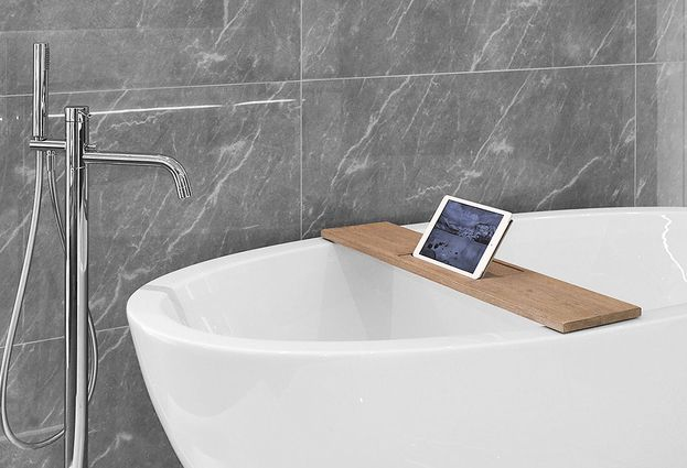 Looox Wood Collection - 3: Ontspannen badderen met de Looox Bath Shelf