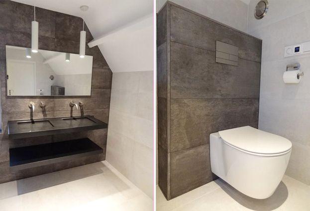 Tegels Badkamer Nunspeet : Industriele badkamer in lelystad de wilde tegels & sanitair