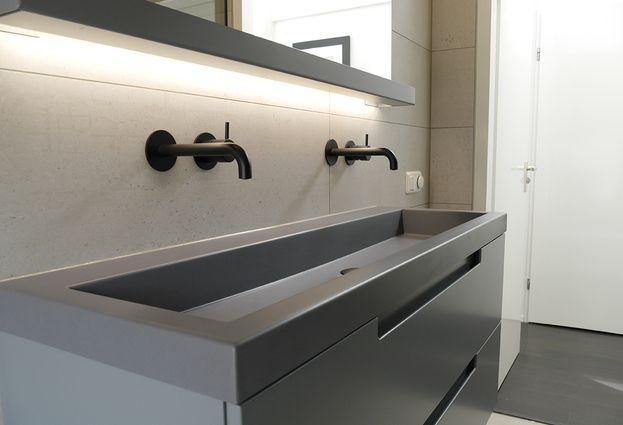 Badkame Voor Woonplaats : Industriële badkamer in drachten van der meulen badkamers tegels