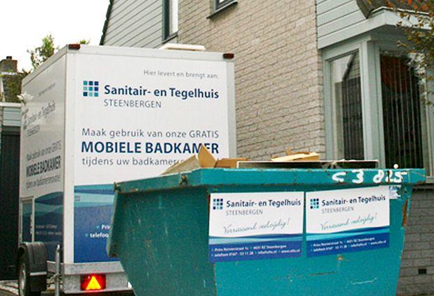 Tijdelijke Mobiele Badkamer : Mobiele badkamer sanitair en tegelhuis specialist in complete