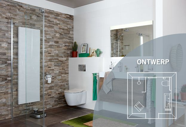 Badkamer met natuurlijke materialen - Kies voor een badkamer met natuurlijke materialen