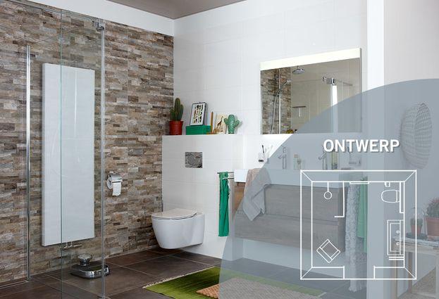 Natuurlijke badkamer - Kies voor een badkamer met natuurlijke materialen