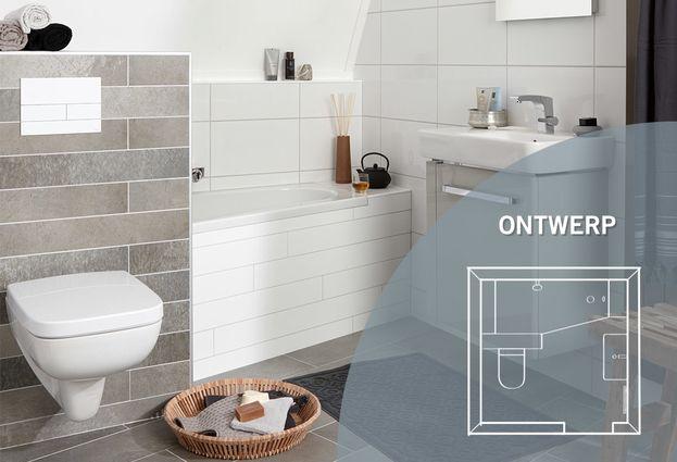 Kleine badkamer met bad - Kenmerken Compact badkamer