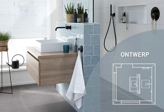 Trendy Kleuren Badkamer : Trendy badkamer in vtwonen stijl aart van de pol badkamers en tegels