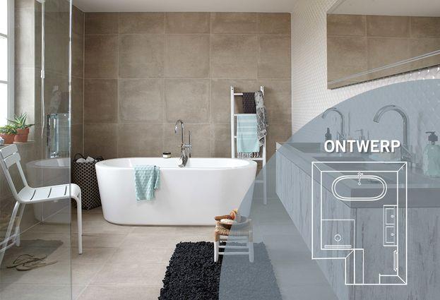 Landelijke badkamer - Kenmerken Lifestyle badkamer
