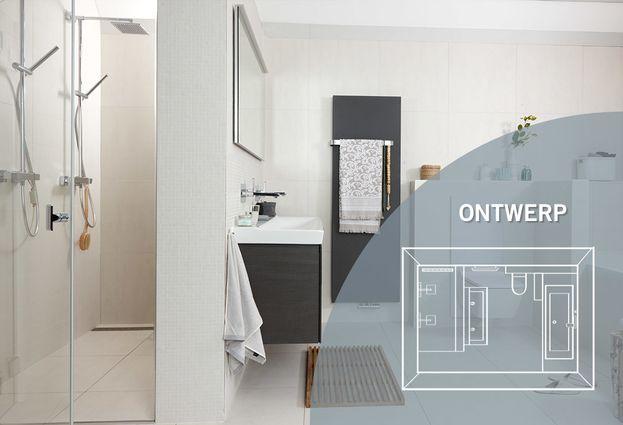 Witte badkamer - Kenmerken Offwhite badkamer