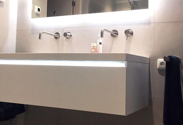Binnenkijken: Moderne badkamer in Dokkum - samenvatting