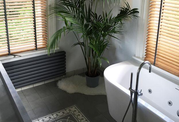 Binnenkijken: Landelijke badkamer in Ewijk - samenvatting