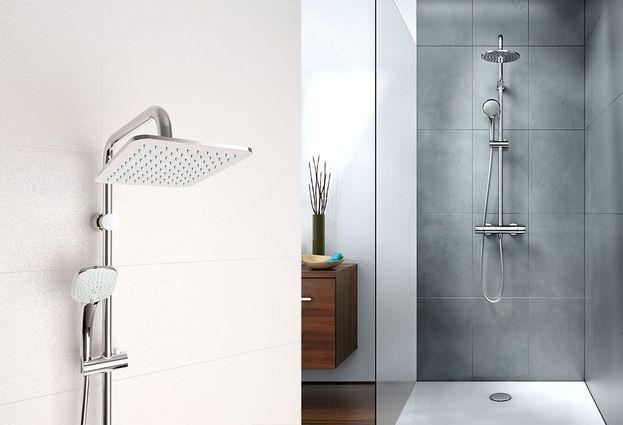Douchewand Zonder Voegen : Mix & match douchecombinaties voor iedere badkamer baden