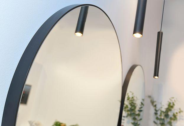 Ronde Houten Spiegel : Ronde houten spiegel etsy