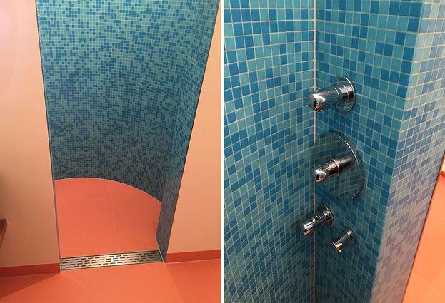 Binnenkijken: Badkamer met mozaïektegel in St. Anthonis - 1. Samenvatting badkamer St. Anthonis