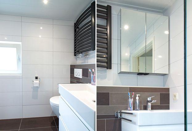 Kleine badkamer in Waalwijk - samenvatting badkamer in Waalwijk