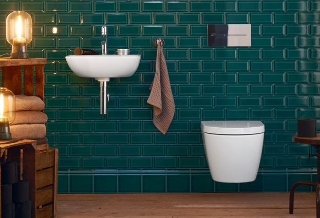 Duravit toilet - 1.Duravit randloos toilet