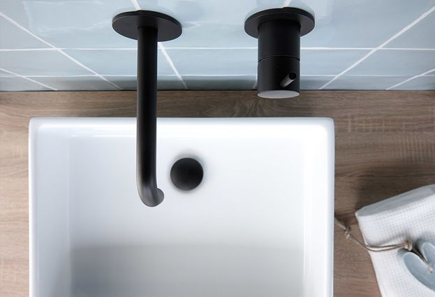 Pastelkleuren in de badkamer - 3