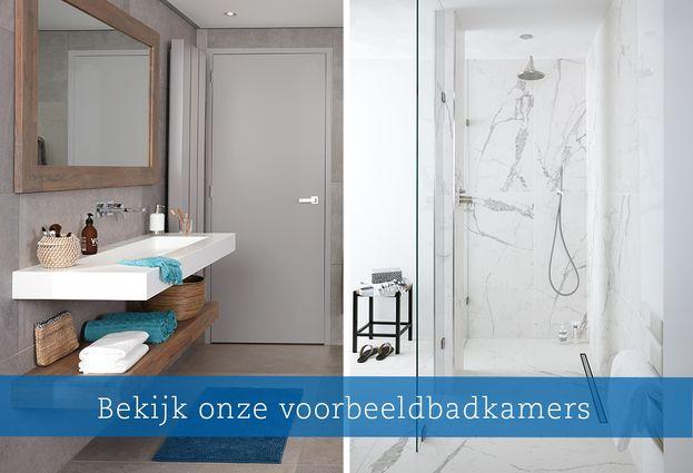 Wellness en luxe - Voorbeeld wellness badkamers