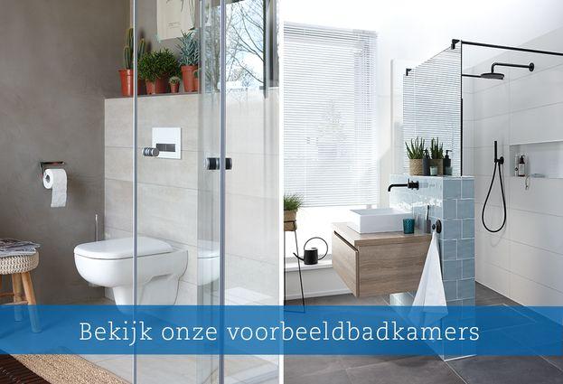 Innovatief en modern - Voorbeeld moderne badkamers