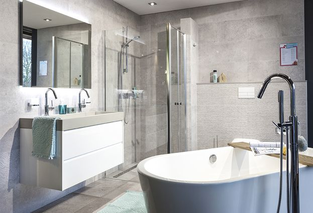 Showroom - 2. Nieuwste badkamertrends vindt u in Deurne