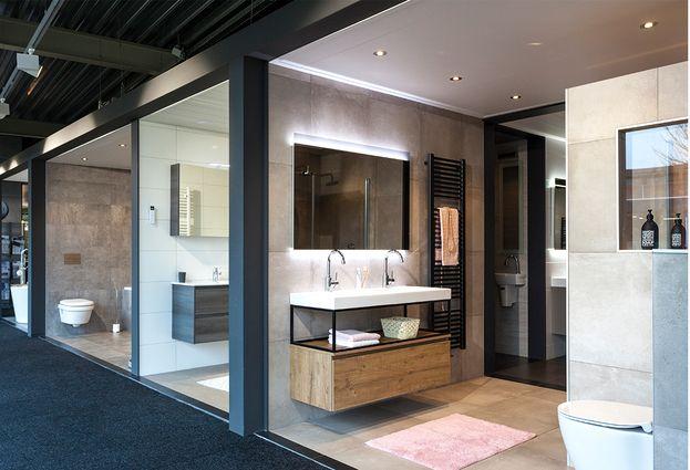 Showroom - 1. Ruime showroom in Deurne