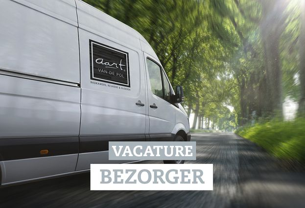 Over ons - 5. Vacature bezorger