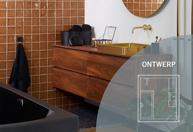 Badkamer met gouden accessoires - Kenmerken Lifetime badkamer