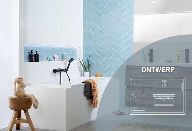 Hippe badkamer voor het gezin - Kenmerken Lifetime badkamer